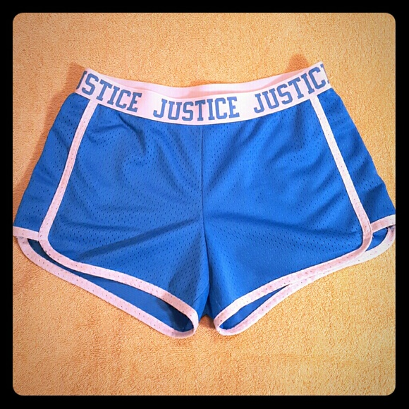 Justice Other - Justice mesh shorts. Size 10; never worn.